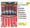 6pc screwdriver set