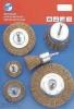 6pcs Steel Wire Brush Set
