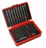 71pcs screwdriver bit set with colorful ring