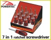 7in1 ratchet Screwdriver