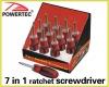 7in1 ratchet Screwdriver