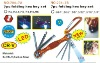 7pc folding torx hex key set with led light
