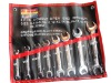 8pcs Double Open End Wrench Set