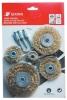 8pcs wire wheel brush set