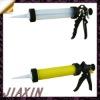 "9"" sausage type aluminum handle &trigger plastic body caulking gun"