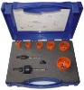 9pcs HSS Bi-metal Hole Saw Set