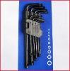9pcs black plum-blossom wrench (CR-V)