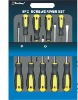 9pcs slip-resistant screwdriver set