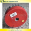 Abrasive brush for stone antique surface