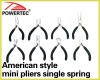 American style Mini Pliers Single spring