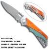 Beautiful Floding Blade Liner Lock Knife 6021GT-C(K)