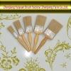 Beige Bristle Paint Brushes 0071