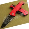 Boker M004 Combat Folding Knife Tactical Knife Survival Knife Red DZ-943