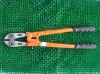 Bolt cutter with plastic grip