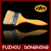Bristle Brush With Wooden Handle Painted Varnish