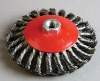 Conical Twist Knot Wire Brush