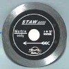 Continuous rim small diamond saw blade for longlife cutting marble----STAW