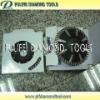 Convex Rim Blade with Turbo Segment