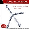 Cross Rim Wrench,foldable(Socket size:17*19*21*23mm)