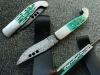 Damascus fancy folding knives