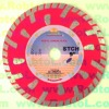 Deep Tooth Turbo Rim Diamond Blade with Guide Segmentes for Granite--STCH