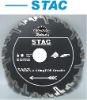 Deep teeth segmented diamond saw blade for fast cutting granite----STAC