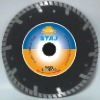 Deep teeth turbo small diamond saw blade for fast cutting marble