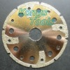 Diamond coated circular saw blade