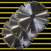 Diamond cutting blade: 150mm Laser turbo saw blade