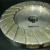 Diamond electroplated stone profile wheel