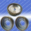 Diamond grinding wheel for glass straight line machine
