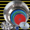 Diamond laser saw blade: middle size saw blade for stone