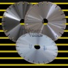 Diamond saw: 350mm Laser welded silent saw blade