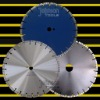 Diamond saw: 400mm Laser turbo saw blade