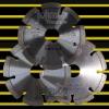 Diamond saw blade: laser saw blade: general purpose:105mm
