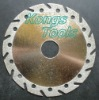 Diamond tipped circular saw blade