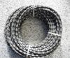 Diamond wire for granite profiling