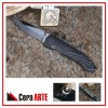 "Distinued-4.25"" ceramic folding knife (mirror polished blade with Aluminum/CNC Machined handle)"