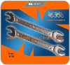 Double open-end wrenches