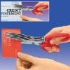 Easy shred scissors