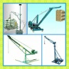 Easy to operate small mobile hoist