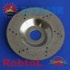 Electroplated Diamond Grinding Cup Wheel with Sawtooth Rim---ELAZ