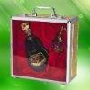 Elegant promotion wine case
