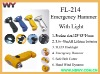 Emergency Hammer with Light FL-214