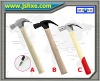 Fiberglass handle claw hammer