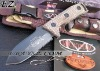 Free Shipping Microtech Double Edges Small Straight Knife Fixed Blade Knife DZ-592