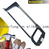 GERMANY TYPE ADJUSTABLE HACKSAW FRAME WITH ALUMINUM HANDLE AND ROUND TUBE
