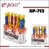 GP-713 11in1 CR-V, combination spanner kit (screwdriver) ,CE Certification.