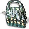 Garden Tool Tote Bag with Webbing Handle