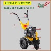 Gasoline Tiller With Wheel GTW-75R